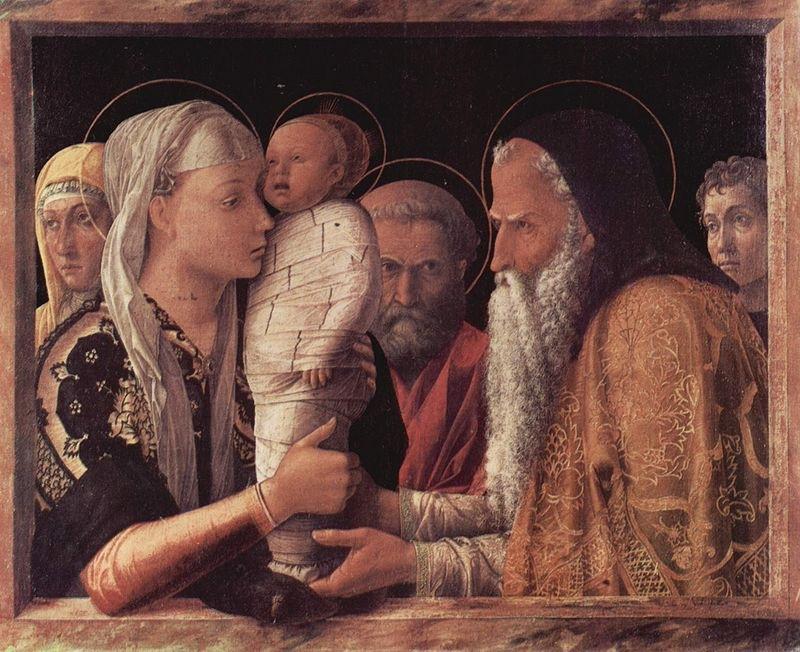 Bellini: Urunk bemutatása a templomban (1460-64)