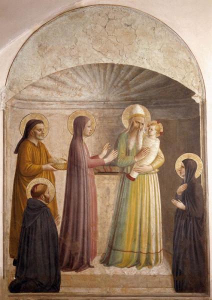 Fra Angelico: Jézus bemutatása a templomban (1440–42)