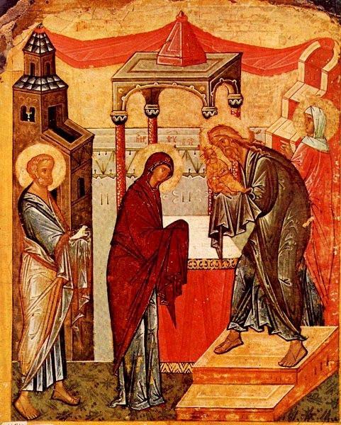 Uruk bemutatása (15. századi orosz ikon)