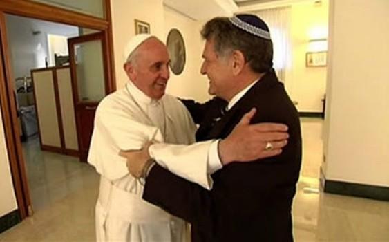 Ferenc pápát az 50 legtekintélyesebb zsidó személy sorába emelték
