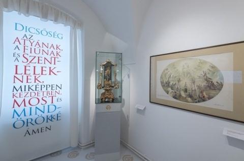 """""""Föld és ég között"""" címmel nyílt kiállítás a Székesfehérvári Egyházmegyei Múzeumban"""
