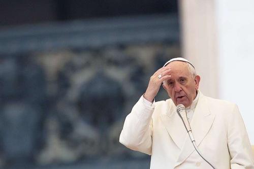 Ferenc pápa  Imádkozom azokért 164d4089f0