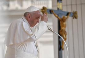 """Ferenc pápa: Csak az marad tartós, ami Isten """"kézjegyét"""" viseli magán!"""