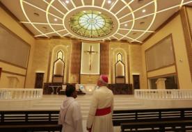 Új katolikus templom épült Ománban