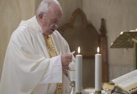 Ferenc pápa: Az Isten előtti önvád szabadít meg a képmutatástól