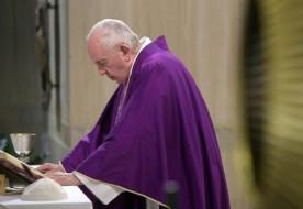 Ferenc pápa: Életünket alapozzuk az Úrra és ne a látszatra!