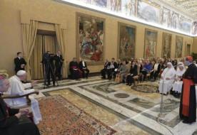 Isten szeretete Jézusban látható – Francia lelkiségi mozgalmak képviselőit fogadta a pápa