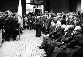A romok fölött fakasztott új életet – Huszonöt éve hunyt el Balogh Ferenc piarista szerzetes