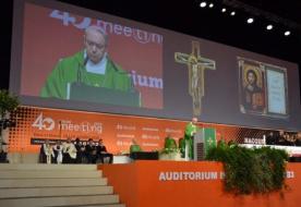 Ferenc pápa üzenetet küldött a Rimini Meetingre