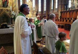 A száz éve elhunyt Bogisich Mihályra, az OMCE alapítójára emlékeztek a Mátyás-templomban