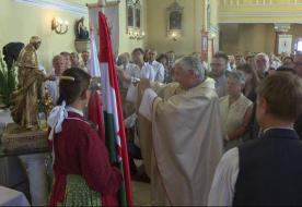Szent II. János Pál oltalmába ajánlották Edelényt