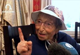 """Gyalog zarándokolt Częstochowába a 95 éves olasz """"zarándokanyóka"""""""