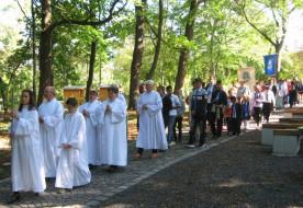 Alsószentivánra zarándokoltak a Székesfehérvári Egyházmegye hitoktatói