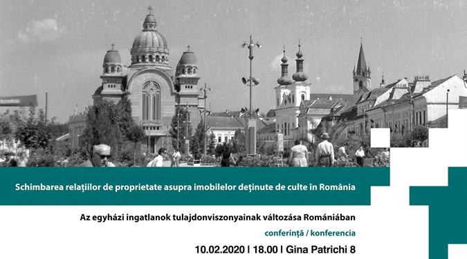 Az egyházi ingatlanok tulajdonviszonyainak változásairól rendeztek konferenciát Bukarestben