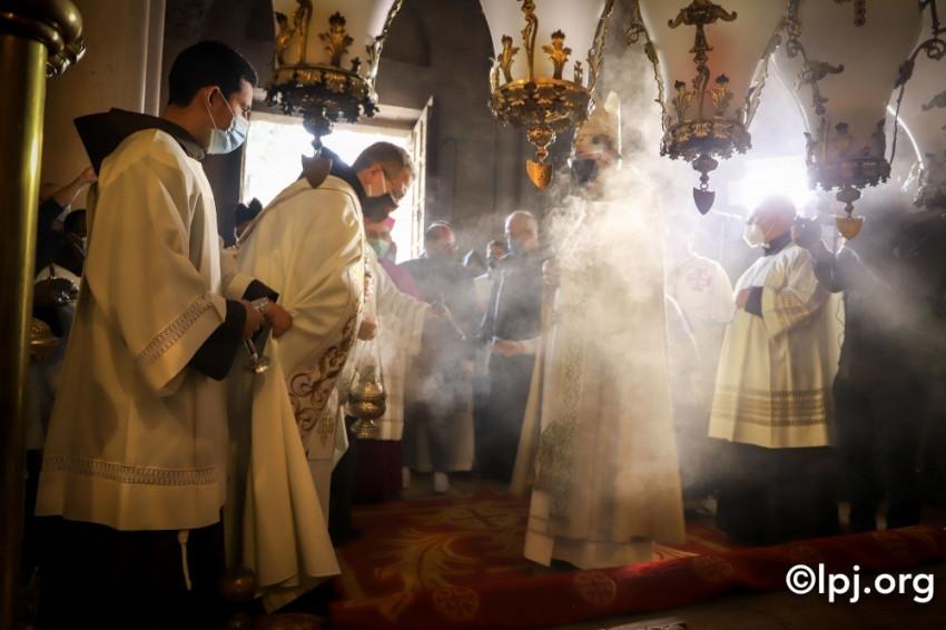 A Jeruzsálemi Latin Patriarkátus köszönetét fejezte ki a segítségért, amit a Szentföld kapott idén