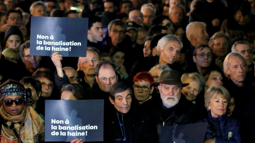 A francia püspökök újra felszólaltak az országban érezhetően erősödő antiszemitizmus ellen