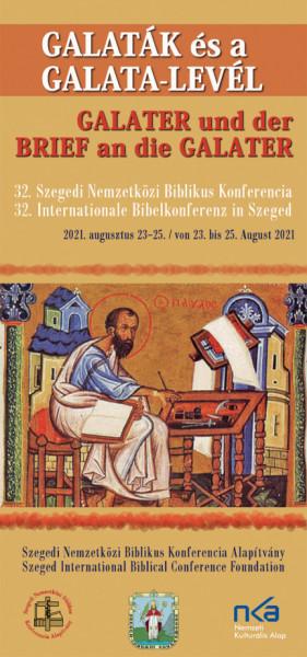 Idén a galaták és a Galata-levél lesz a Szegedi Nemzetközi Biblikus Konferencia témája