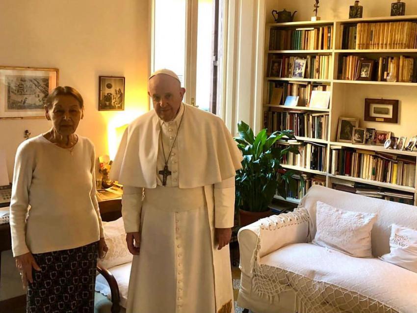 Bruck Edith magyar holokauszt-túlélő levele Ferenc pápának