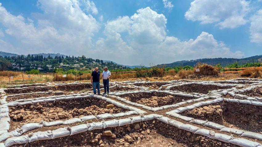 Egy kilencezer évvel ezelőtt virágzó település maradványaira bukkantak a régészek Jeruzsálem mellett