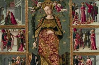 Szent Lúcia szűz, vértanú