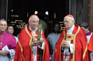 Erdő Péter bíboros a londoni Westminster-katedrálisban mutatott be ünnepi szentmisét