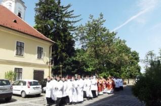 Boldog Apor Vilmos püspököt ünnepelték a győri székesegyházban