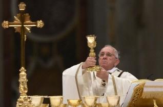 Ferenc pápa Twitter-üzenete május 26-án