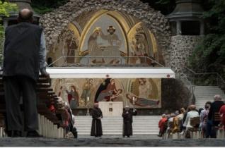 Ferences templomi közösségek zarándokoltak Szentkútra