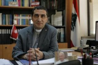 Erdő Péter meghívására Magyarországra érkezett a libanoni karitász igazgatója