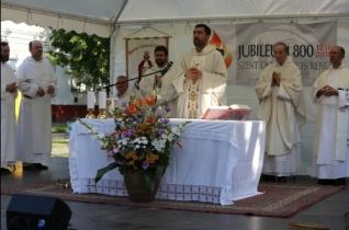 Búcsút ünnepelt a debreceni Szent László domonkos plébánia