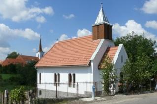 Megáldották a felújított homoródszentpáli templomot