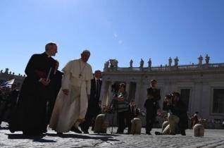 Ferenc pápa: Engedjük, hogy Jézussal együtt mi is megrendüljünk!