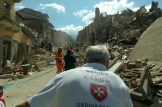 A Máltai Szeretetszolgálat felajánlotta segítségét a földrengés sújtotta olaszországi térségben