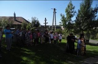 Kápolnát áldottak meg Hernádvécsén