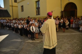 Szekszárdon tartották a Pécsi Egyházmegye központi tanévnyitóját