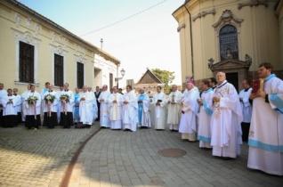 Ünnepi zarándoklat Nagyszombatba – 450 éve alapították az első magyarországi papnevelő intézetet