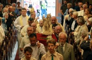 Az angyalok jegyében rendezték meg a Szent Mihály-búcsút Veszprémben