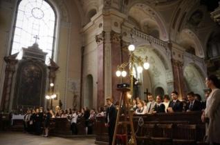 Ifjúsági szentmisét mutattak be Kecskeméten Szent Gellért napja alkalmából