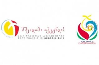 Ferenc pápa grúziai és azerbajdzsáni apostoli útjának jelképei