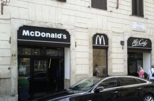 McDonald's nyílik a Szent Péter tér közelében
