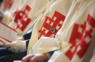 Szent Sír-lovagokat avattak Budapesten