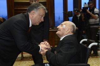 A Magyar Becsület Renddel tüntették ki Olofsson Placidot