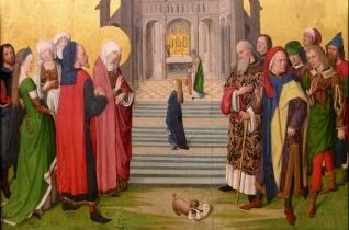 A Boldogságos Szűz Mária bemutatása a templomban