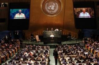 A pápa üzenetet küldött a nukleáris leszerelésről szóló ENSZ-konferenciára