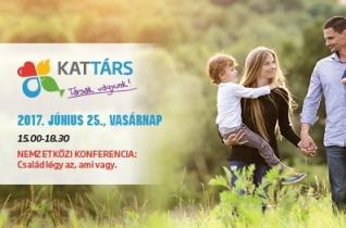 """KATTÁRS-konferencia Győrben – """"Család, légy az, ami vagy"""""""