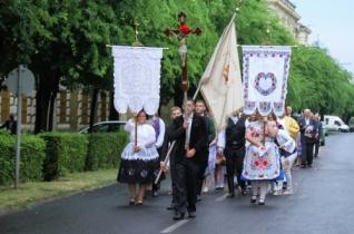Jézus Szíve-búcsút ünnepeltek Kalocsán