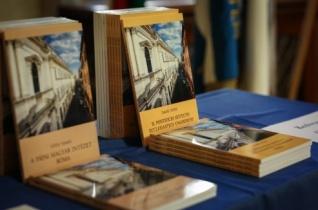 Bemutatták a római Pápai Magyar Intézet történetét ismertető kötetet
