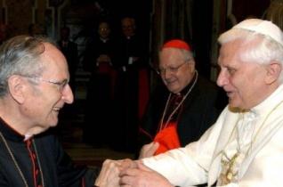 XVI. Benedek levele Joachim Meisner bíboros temetésére