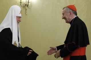 Pietro Parolin találkozott az orosz külügyminiszterrel és Kirill pátriárkával