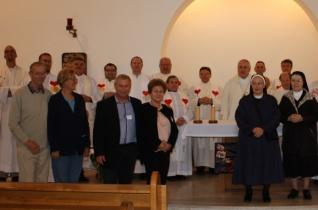 Papi-szerzetesi találkozót tartott a Házas Hétvége mozgalom